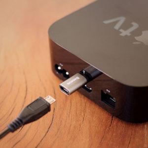 Adaptador Micro-USB para USB-C